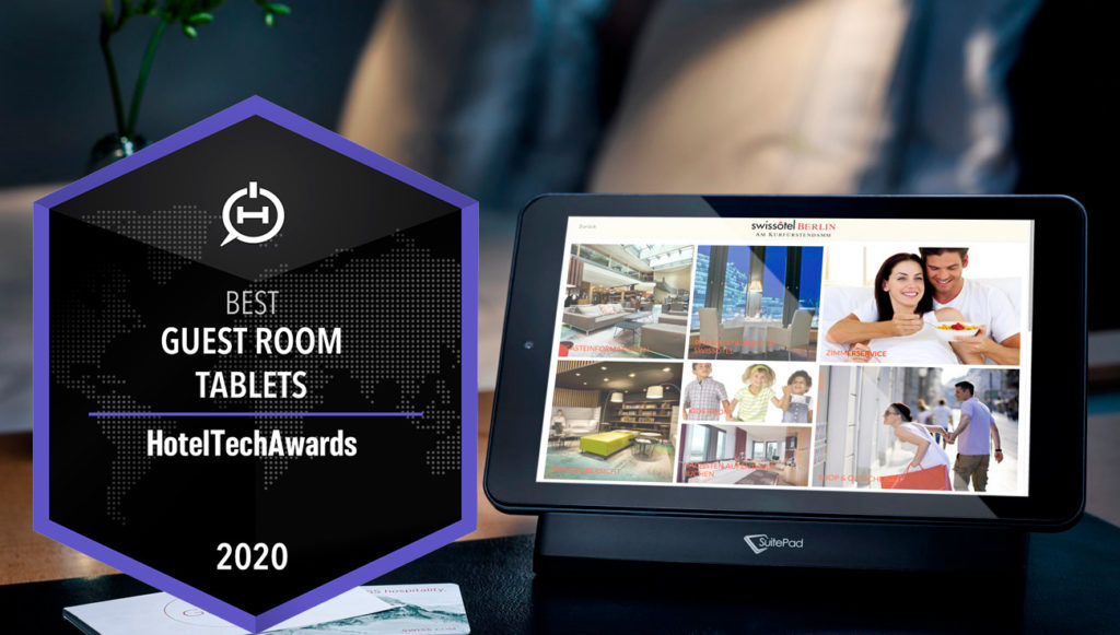 SuitePad Tablet per hotel